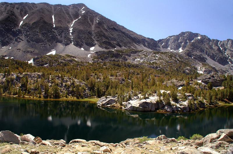 Box Lake and Mount Morgan.