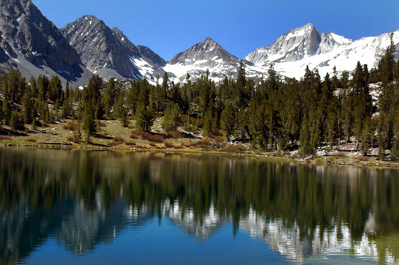 Another view of Pyramid Peak from across Heart Lake..