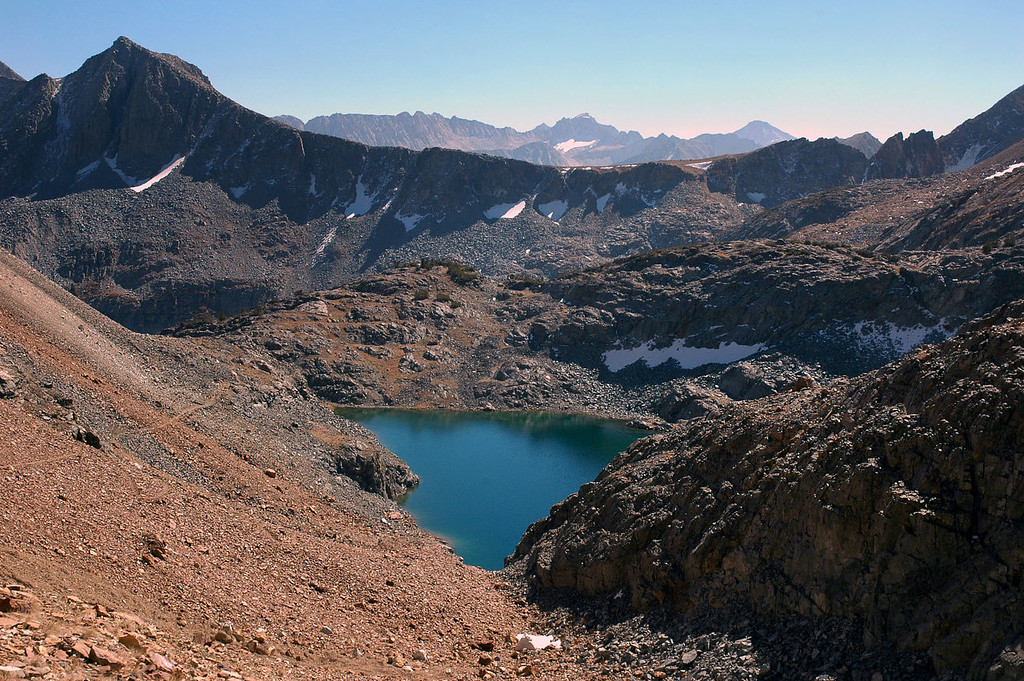 Looking back at Little McGee Lake.