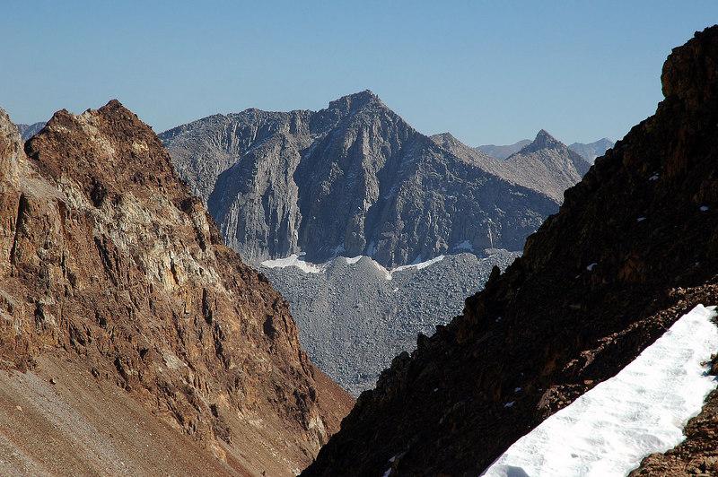 Zoomed in on Mount Crocker.
