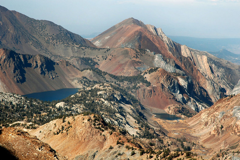 Think this one is Laurel Mt 11,812 feet with Lake Dorothy on the left.