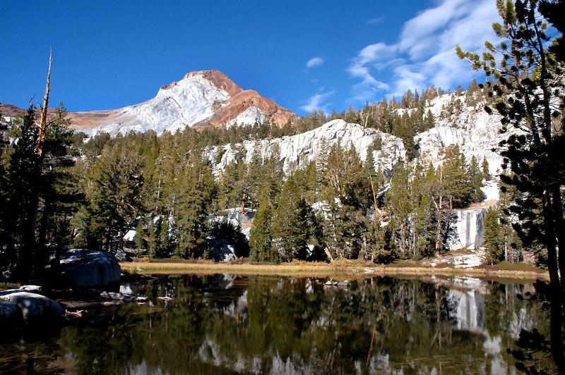 The unnamed lake at 10,000 feet.