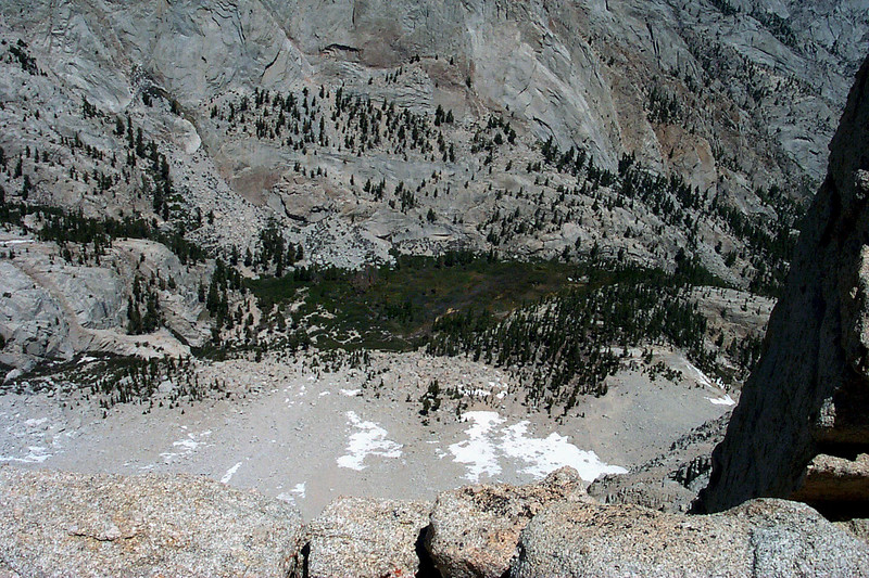 Bighorn Park where Outpost Camp is located on the Whitney Trail.