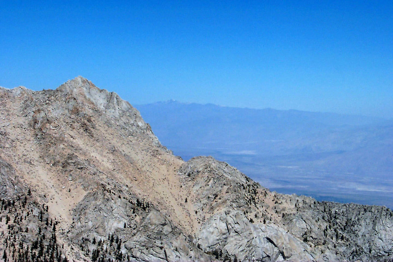 White Mountain at 14,246 feet in the distance arcoss the Owens Valley.