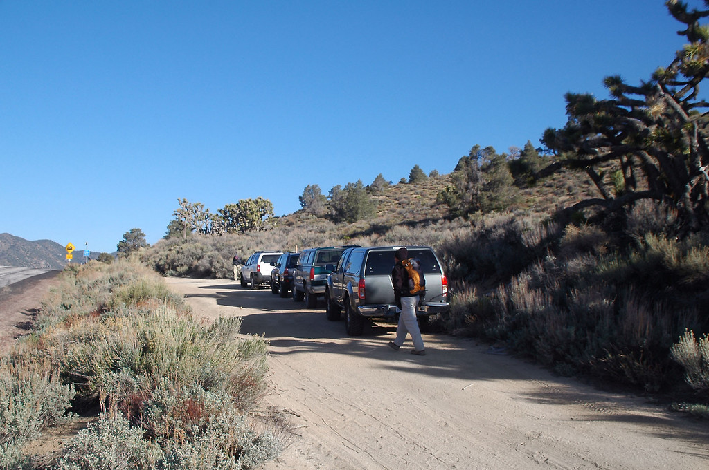 We started the hike at Walker Pass on Hwy 178 at 5,246 feet.