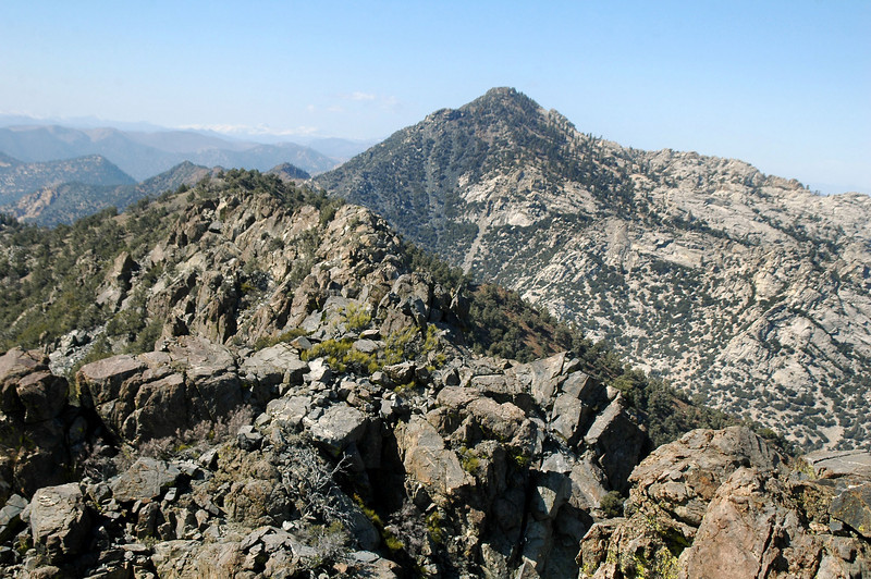 Owens Peak to the north.