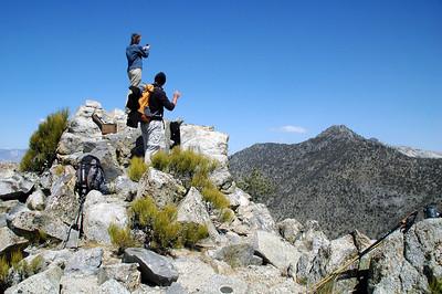Morris Peak and Mount Jenkins 4-25-09