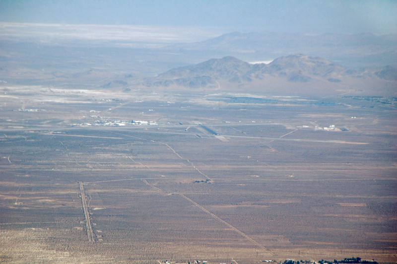 Zoomed in on the China Lake's airfield.