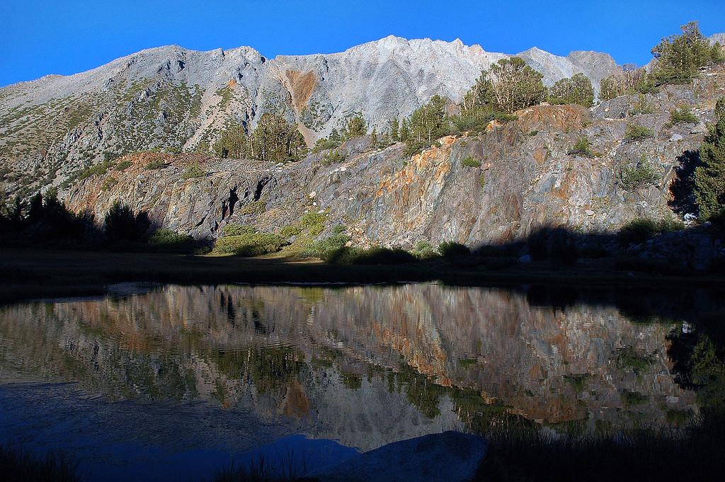 Reflection shot.