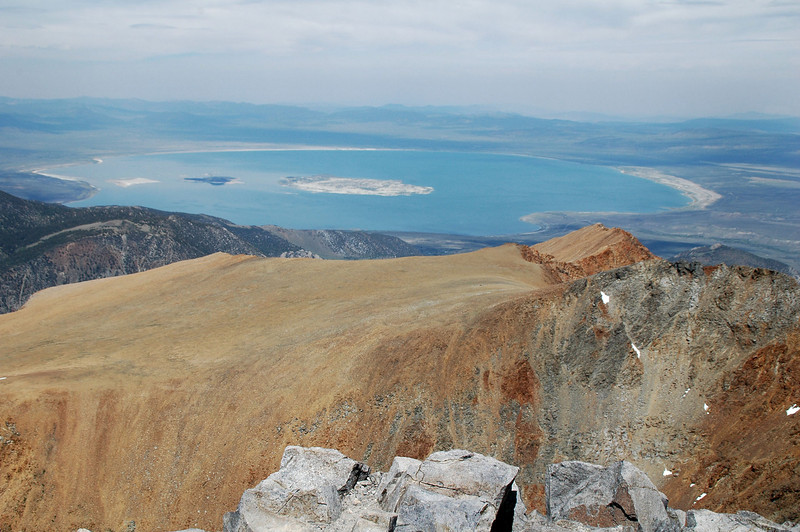 Another view on Mono Lake looking over the top of the Dana Plateau.