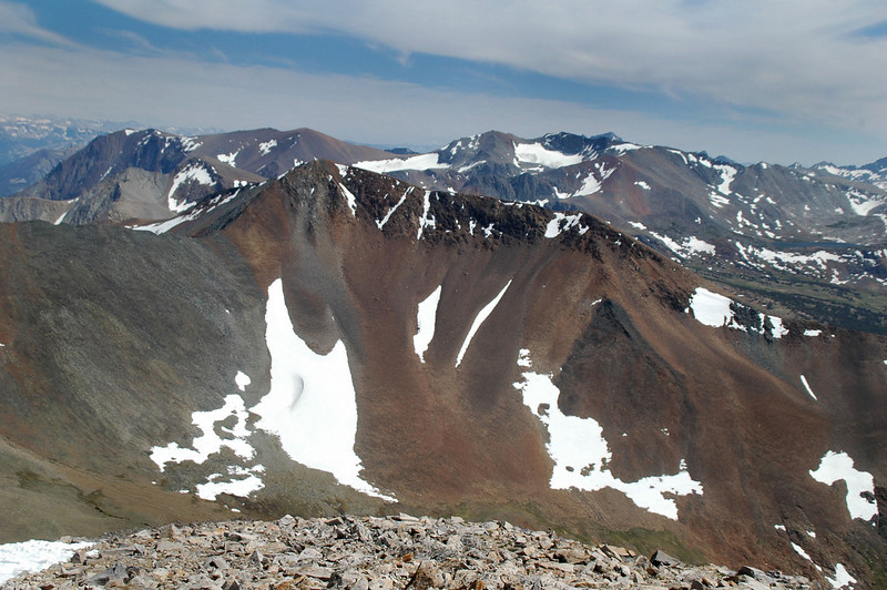 Mount Gibbs at 12,773 feet to the south.