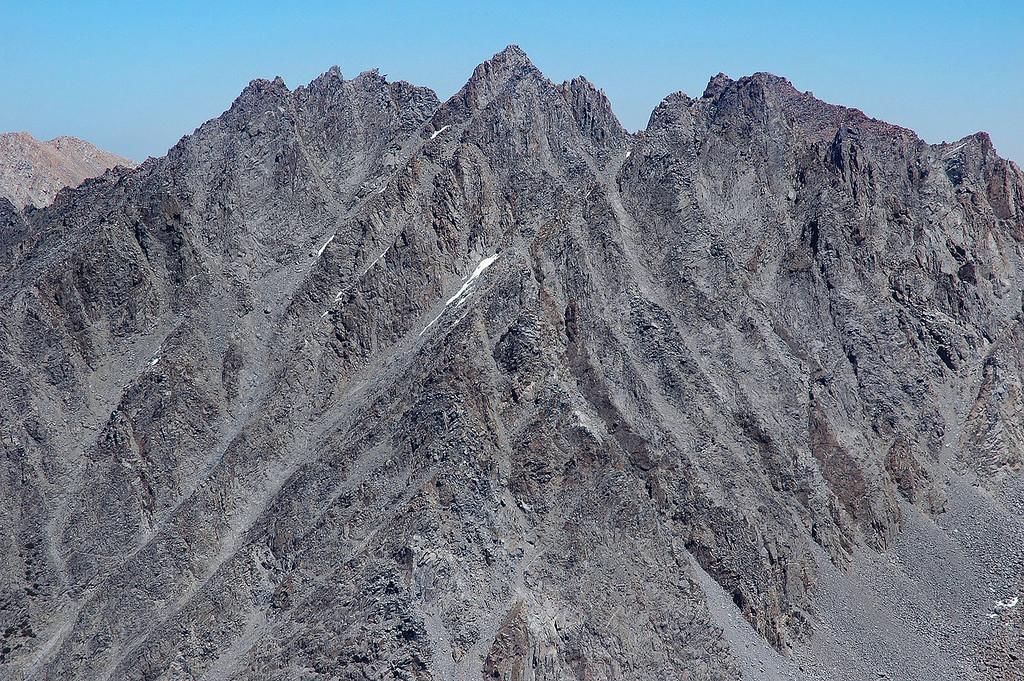 Zoomed in on Picture Puzzle, great looking peak.