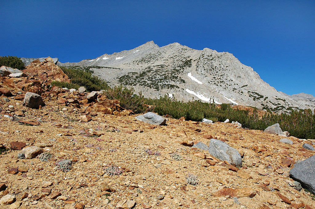 We finally made it around to the east side of Mt Goode. This is the side we will climb.