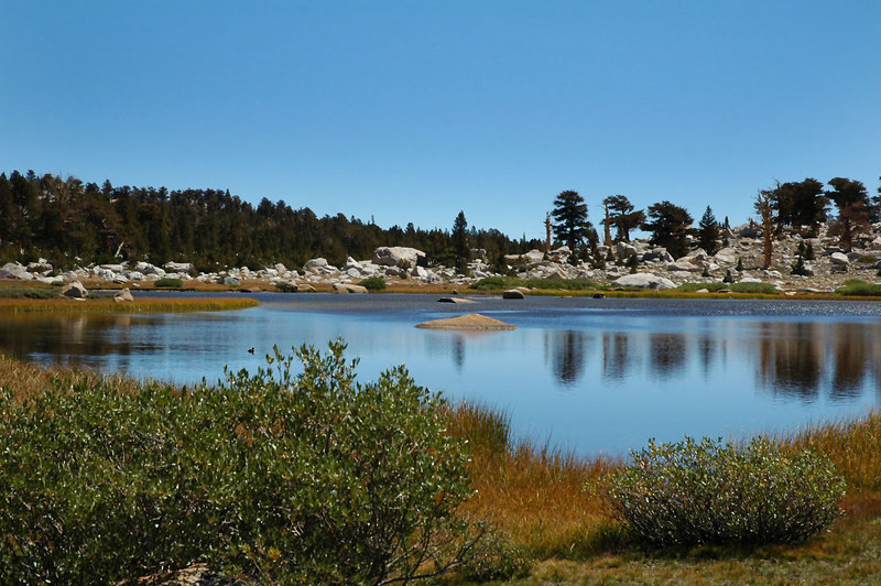 The unnamed lake.