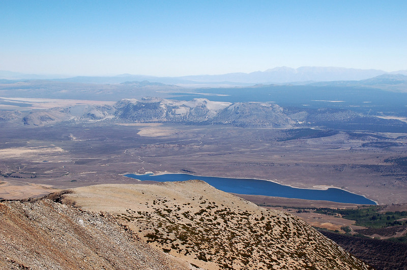 Grant Lake and the Mono Craters.