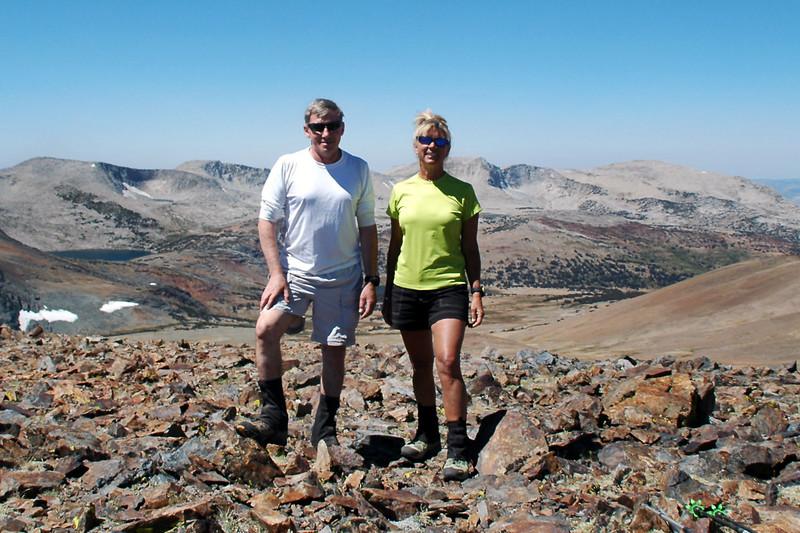 On Mount Lewis at 12,324 feet.