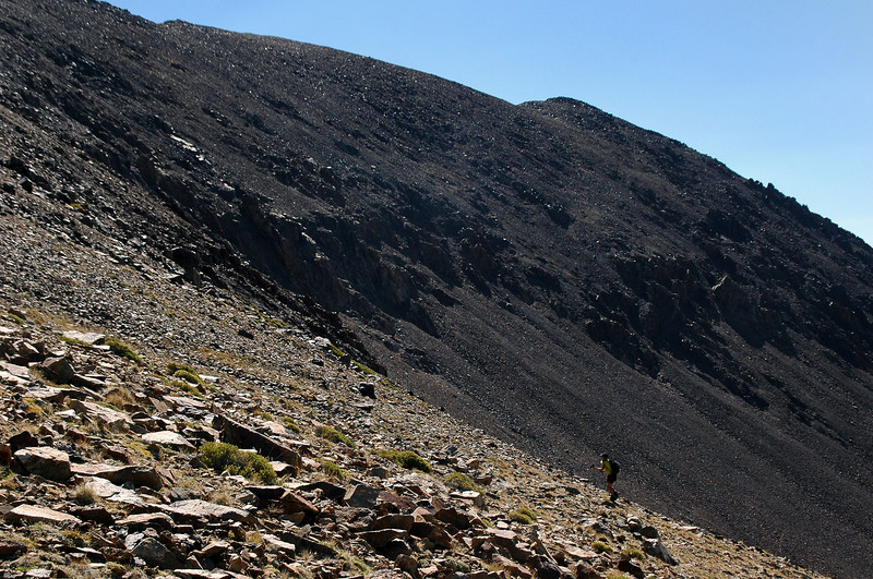 It was a short hike from camp, about one mile with a 1,400 foot gain.