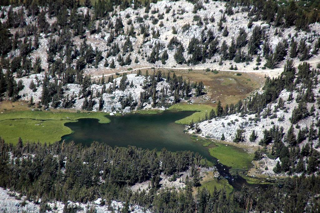 Zoomed in on Marsh Lake.