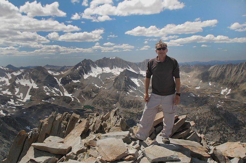 Me on the summit. Glad I tried this hike a second time. Taking the route we took made it a fairly easy hike.