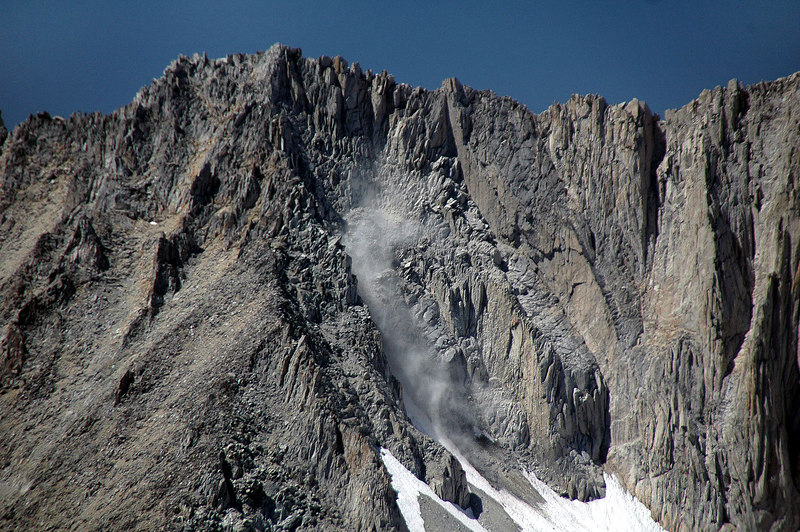 Zoomed in on the slide. Think that this is the east side of Mt Abbot.