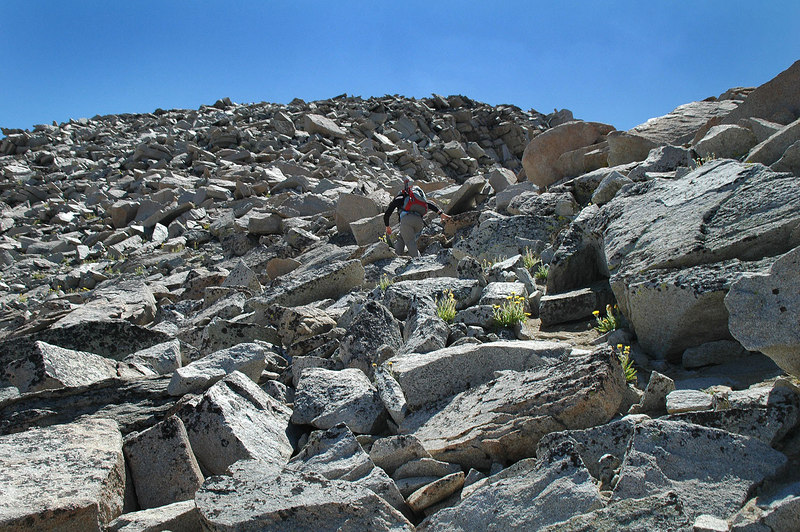 There were a few steep sections, but most of this hike was easier than we thought it was going to be.