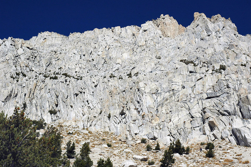 The east side of Mount Starr. We will be climbing it from the west side, it's not as steep.