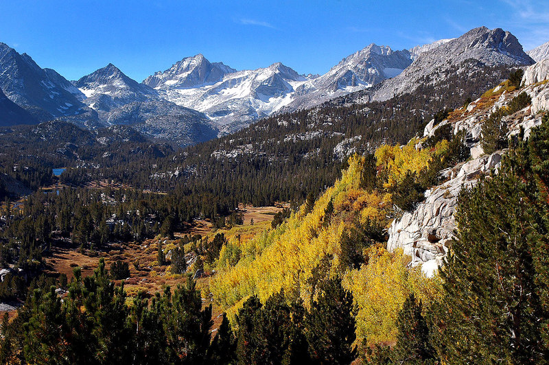 Nice colors in Little Lakes Valley.