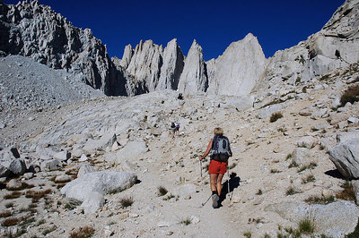 Mt Whitney Via Mountaineer's Route  8/27/05
