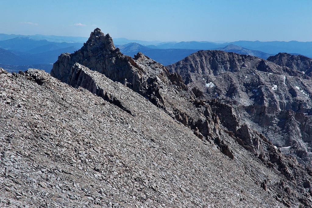 Mount Muir at 14,015'.