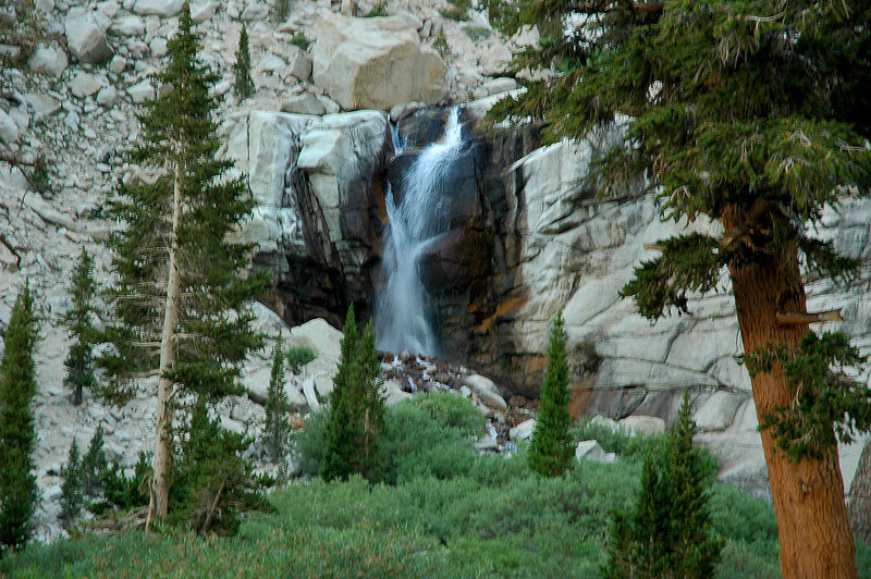 Waterfall at Outpost Camp.
