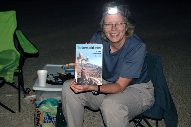 Book on Death Valley