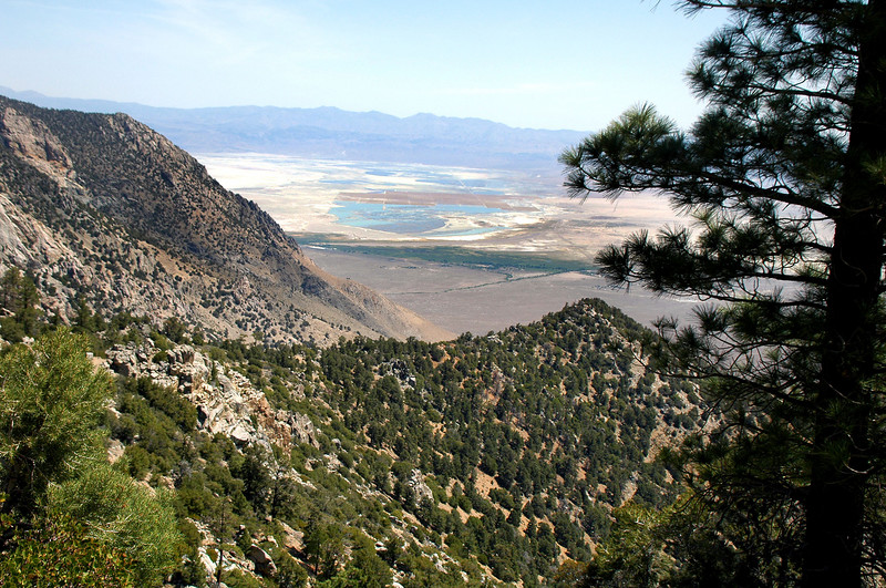 Another view of Owens Lake. Looks like there is more water in it than I'm use to seeing.