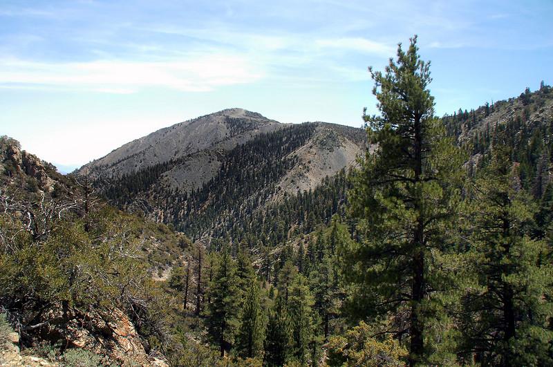 Round Mountain to the southeast.