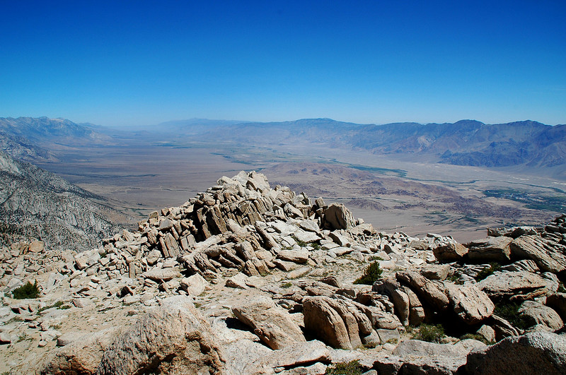 Looking north up the Owens Valley.