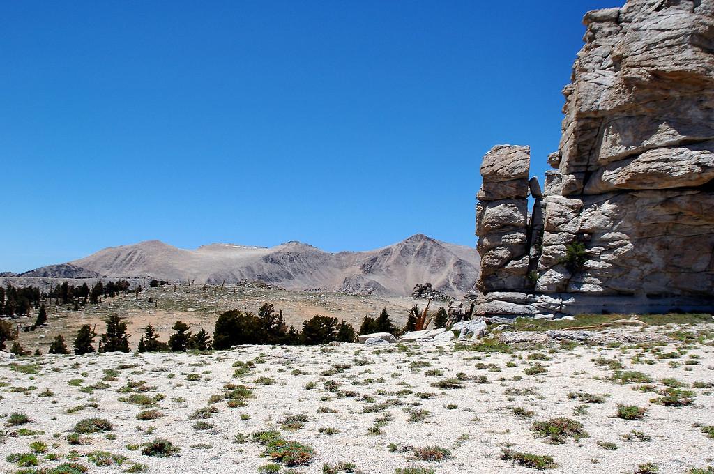 Trailmaster and Cirque Peaks.