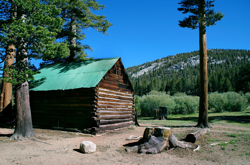 One of the cabins at the camp.