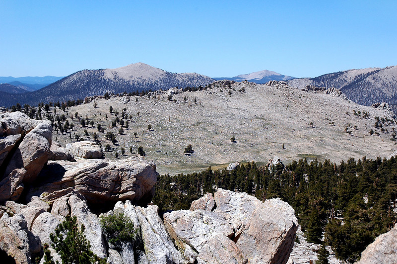 Trail Peak to the south.
