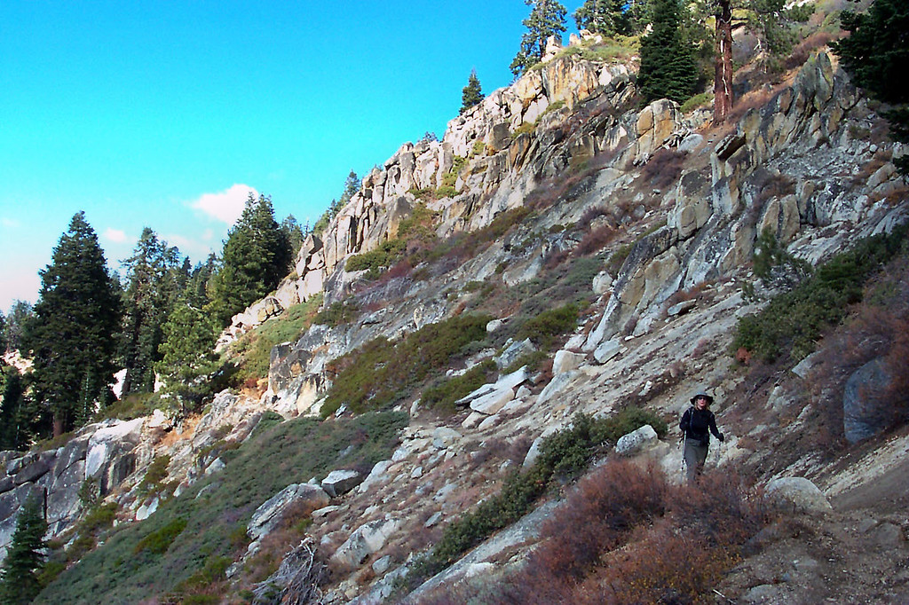 There were a lot of nice rock formations on the lower part of the trail.