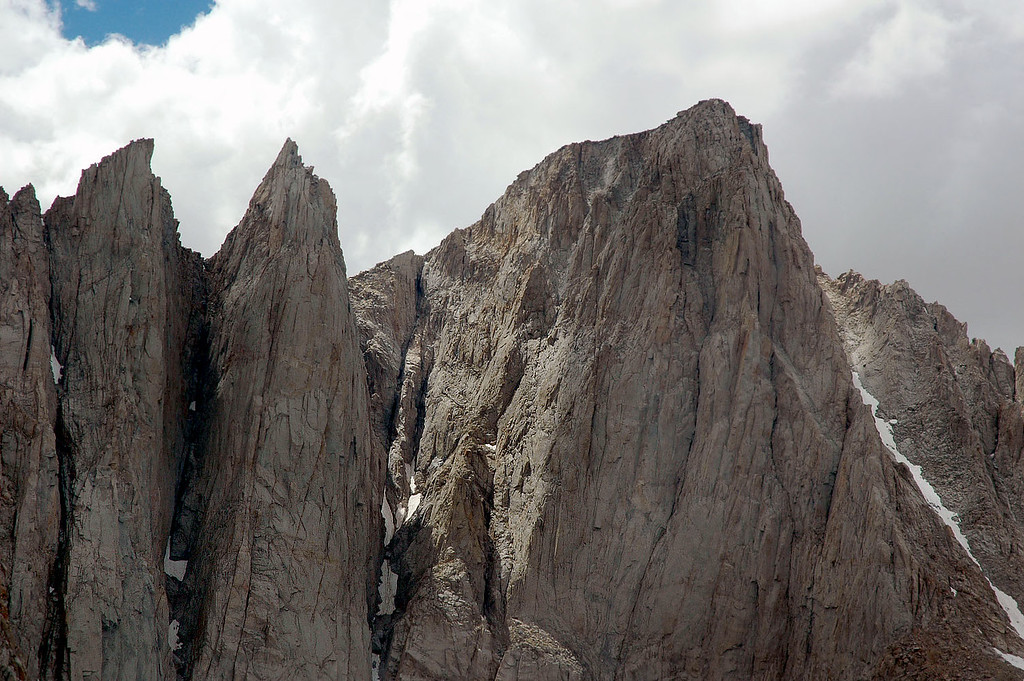 Mount Whitney and the needles.