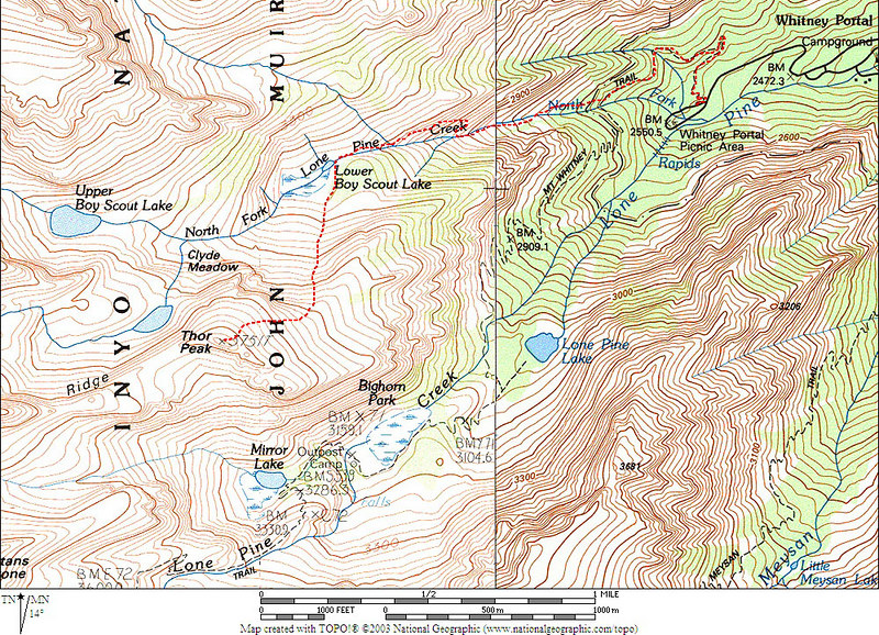 My GPS track of the hike.<br /> <br />  THE END