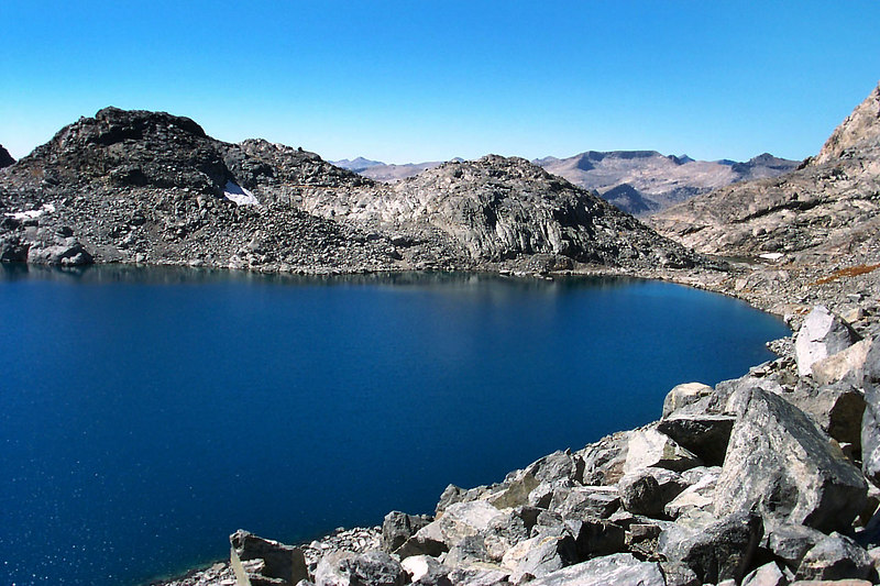 The other end of Lake Catherine.