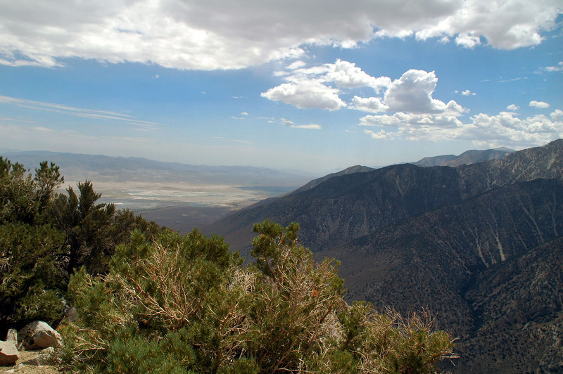 View to the south down the Owens Valley.