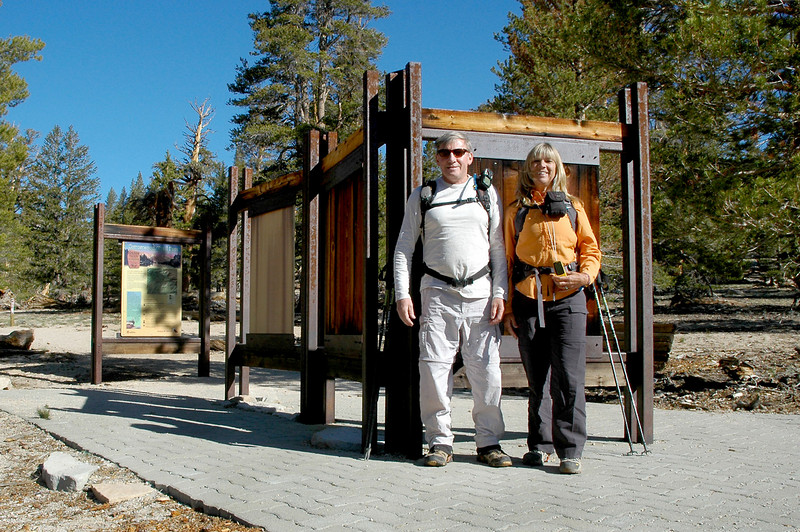 Me and Sooz at the Cottonwood Pass trailhead at about 9,900 feet.