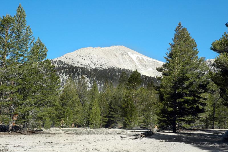 First good view of Trailmaster Peak.