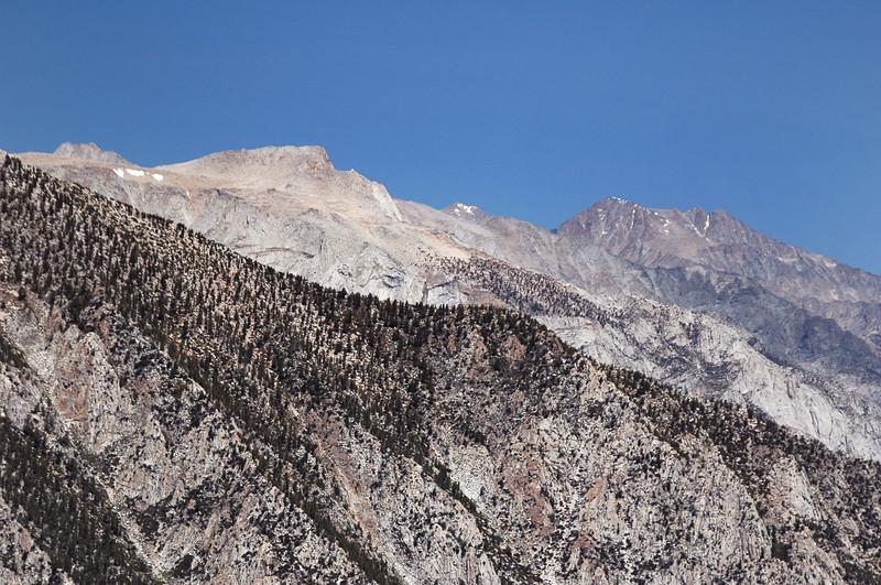 Lone Pine Peak and Mount Williamson.