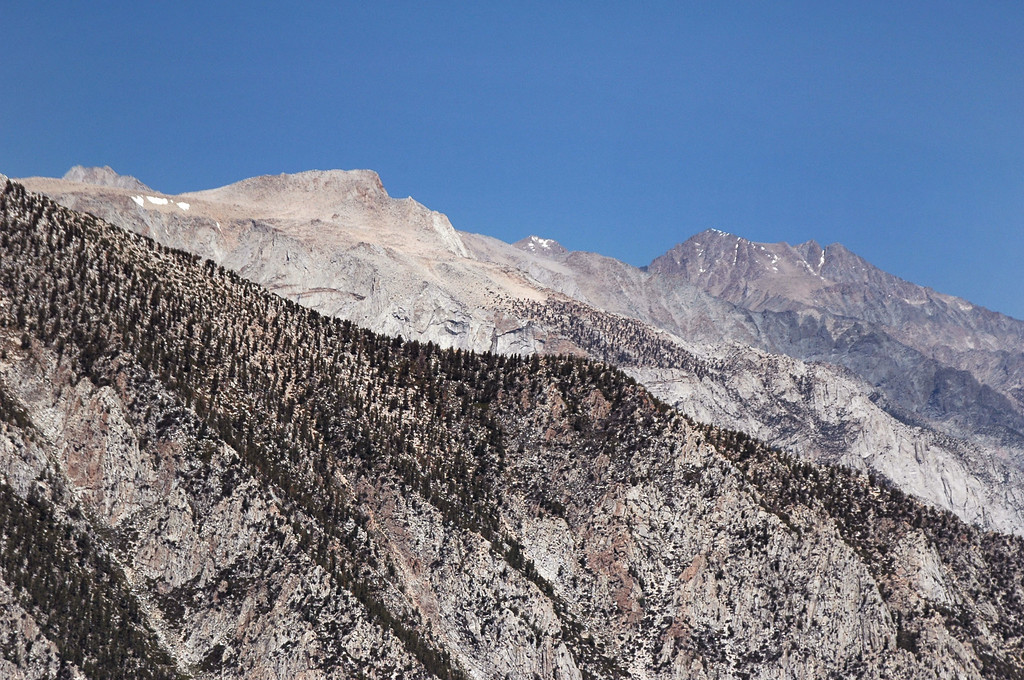 Lone Pine Peak and Mount Williamson.