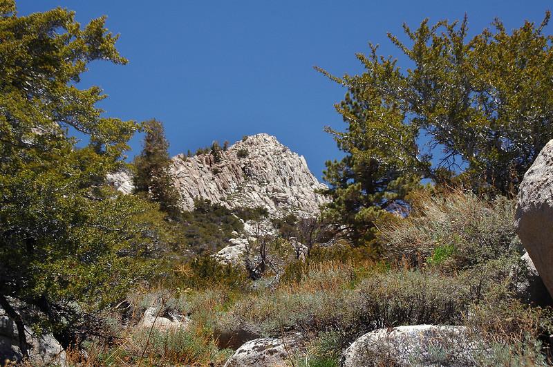 Wonoga Peak comes into view.