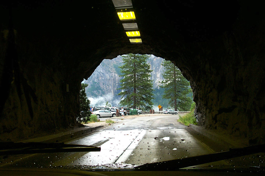 Almost through the tunnel. Photo by Helen