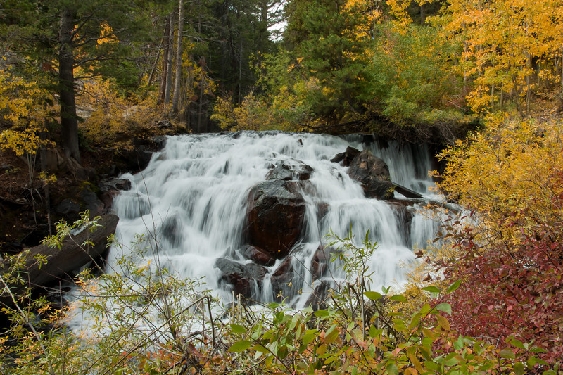 Falls in Lee Vining Canyon
