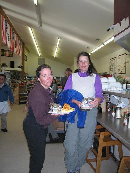 Breakfast sandwiches at Whoa Nellie Deli